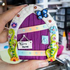 Fairy Door Model Camelia // Puertas de hadas por imaginebylozoya
