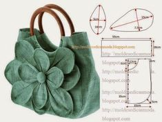 Sewing purses and bags quilts 34 ideas for 2019 Patchwork Bags, Quilted Bag, Bag Quilt, Diy Bags Purses, Diy Handbag, Bag Patterns To Sew, Fabric Patterns, Denim Bag, Fabric Bags