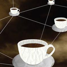 Verbonden door koffie