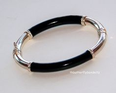 Bold Vintage Sterling Silver & Black by TheButterflyBoxdeitz, $45.00