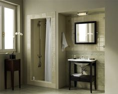 Subway Tile Crackle Finish - Rixi by Grazia - glossy wall tile contemporary bathroom tile