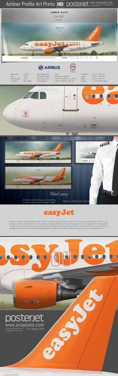 Airbus A319 EasyJet G-EZAT | www.aviaposter.com | #aviation #jetliner #airplane #pilot #aviationlovers #avgeek #jet #airport #pilotlife #cabincrew