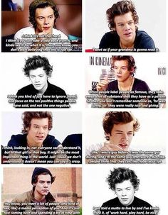 He is way more then the media makes him seem..He isn't a 'womanizer' he is a guy with a big heart and a kid who had to grow up at the age 16 and now sees life from a prespection none of us can even begin to understand why can't the media put THAT^^^Up on magazine and label it 'Harry the boy with a big heart and a whole bucket of pain' ???-mikierae <3