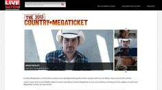 Visit http://promo.livenation.com/megaticket/  Call Brian at 813-600-1008 to purchase a VIP Country Series for the Live Nation Ampitheatre at the Florida State Fairgrounds!