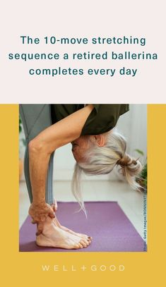 stretching exercises Wellness Fitness, Wellness Tips, Health And Wellness, Health Tips, Mental Health, Daily Stretching Routine, Stretch Routine, Easy At Home Workouts, Core Workouts