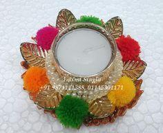 Diwali Diya, Diwali Craft, Diwali Gifts, Fairy Lights, Tea Lights, Diya Designs, Diwali Candles, Flower Rangoli, Indoor String Lights
