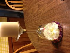 DIY blinged out Center Pieces!!