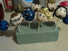 Millennium cake pops