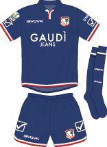 Capri FC of Italy 3rd kit for 2017-18.