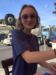 The beautiful daughter of Johnny Depp, Lily Rose Depp
