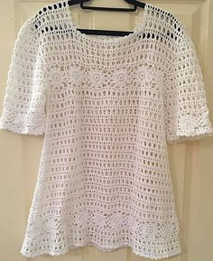 Ravelry: Summer Top pattern by Dotty Patterns