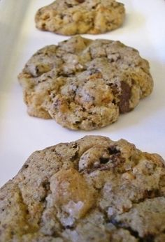 Salted Crusty Brownie Cookies | Udi's® Gluten Free Bread