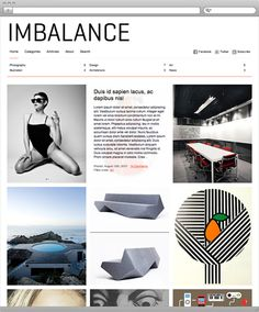 Imbalance is an excellent choice for any online magazine, blog or portfolio websites. This free wordpress theme designed with a contemporary modern vibe in a minimalistic style.