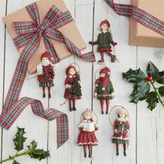 Traditional Victorian Decorations - Set Of Six