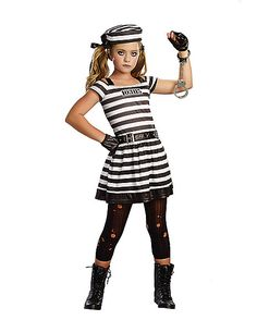 Hannah Cuffs Child Costume - Spirithalloween.com