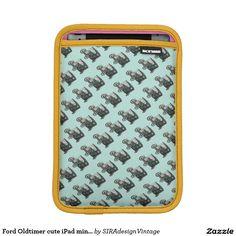 Ford Oldtimer cute iPad mini sleeve SIRAdesign