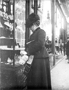 tous les jours millésime: photos vintages extraordinaires de la vie quotidienne de Vienne entre les années 1900 et 1910