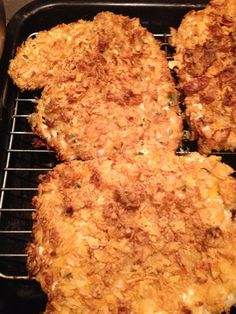 Buttermilk and Cornflakes Baked Chicken Recipe