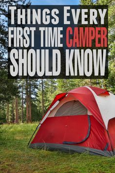 First Time Camper Should Know Things Every First Time Camper Should Know to make your first camping trip a success!Things Every First Time Camper Should Know to make your first camping trip a success! Camping For Beginners, Camping List, Camping Checklist, Camping Essentials, Camping Meals, Tent Camping, Camping Hacks, Outdoor Camping, Outdoor Gear