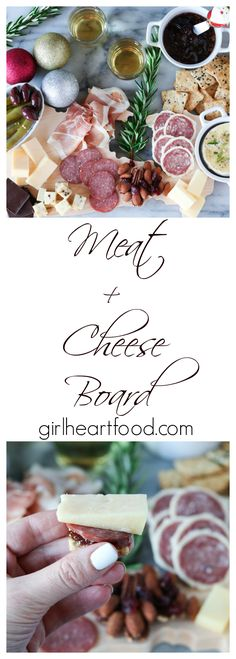 An Easy Meat Cheese Board Perfect For Holiday Entertaining Customize To Your Tas. An Easy Meat Cheese Board Perfect For Holiday Entertaining Customize To Your Tastes – Meat Appetizers, Appetizers For Party, Appetizer Recipes, Christmas Appetizers, Potluck Recipes, Snacks Recipes, Fun Recipes, Amazing Recipes, Potato Recipes