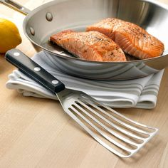 Flexible Stainless-Steel Slotted Spatula