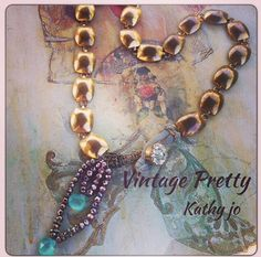 I heart this design ... Vintage Pretty by Kathy Jo