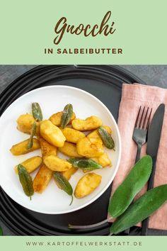 GNOCCHI IN SALBEIBUTTER - Kartoffelwerkstatt