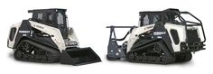 """Terex launched two compact track loaders this week, saying the """"Generation 2"""" R350T and R350T Forestry machines reflect proven Terex designs and engineering while boosting performance with a higher…"""