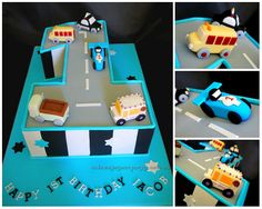 Number One Car Cake