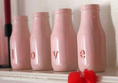 Crafty ways to use milk bottles; drinks, decoration, gifts and more. How to repurpose Anything Repurposing Project Idea Upcycling | Up-cycling | Up cycling Project Difficulty: Simple www.MaritimeVintage.com #Repurposing #Upcycling #Decor