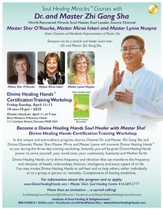 Divine Healing Hands™ are quickly becoming a most profound and miraculous healing treasure for the twenty-first century. The next Divine Healing Hands Certification Workshop is occurring in 28 cities around the world on April 11-13. We are blessed to have Master Sha offer this training in Toronto. If you have been longing to find a way to ease the suffering of others, please take advantage of this extraordinary opportunity. For more info please call 1-416-609-2777