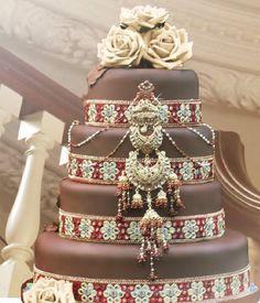 Ethnic wedding cake