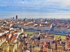 Lyon, a segunda maior cidade da França.
