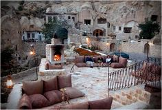 Turkey Cave Hotel - check out more Earth homes here http://www.propertyguru.com.sg/lifestyle/article/4/5-amazing-earth-homes