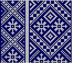 Weaving patterns for belts and sashes Cross Stitch Borders, Cross Stitch Designs, Cross Stitch Patterns, Inkle Weaving, Inkle Loom, Knitting Charts, Knitting Patterns, Weaving Patterns, Cross Stitch Embroidery
