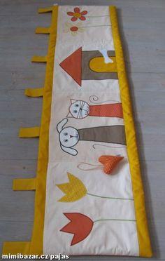 Kapsář na přání z mé tvorby Baby Quilts, Applique, Quilting, Sewing, Kids, Crafts, Inspiration, Decor, Scrappy Quilts