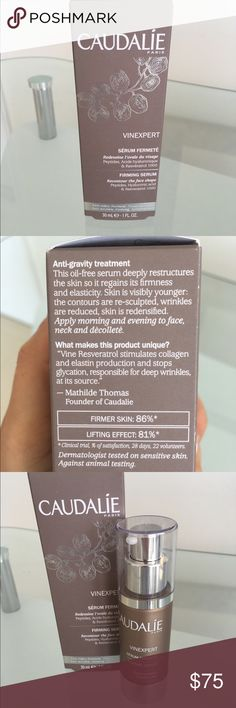 Selling this Caudalie Vinexpert Firming Serum on Poshmark! My username is: dolceluxe. #shopmycloset #poshmark #fashion #shopping #style #forsale #Caudalie #Other