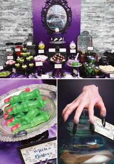 Hostess with the Mostess shows us easy ways to throw a Delightfully SPOOKY Haunted House Party