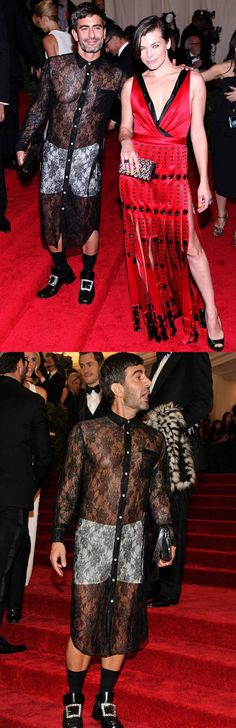 That is bizarre! Marc Jacobs the troll master;)
