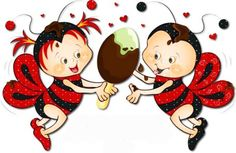 Abelhinha Red Spiders And Snakes, Cool Art, Fun Art, Clipart, More Fun, Cute Pictures, Ladybugs, Diy And Crafts, Minnie Mouse