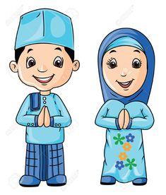 March Tas Lucu Anak MuslimKoleksi Kartun Comel Muslimah Bertudung
