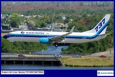 Eastern Air Lines  Boeing 737-800 (N276EA)