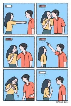 The Best 26 Funny Pictures Of 2019 Love Cartoon Couple, Cute Couple Comics, Couples Comics, Cute Couple Art, Anime Love Couple, Cute Couples, Memes Humor, Funny Memes, Hilarous Memes