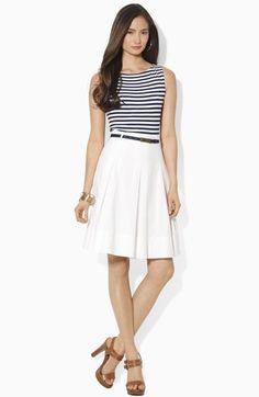 Ralph Lauren Moch Two-Piece Dress