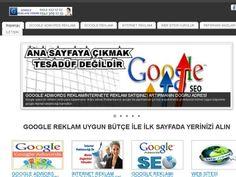 İnternet Reklam,Google Reklam,Google Reklamı Verme – Webdebul.Com.Tr Türkçe Siteler Portalı; Site Ekle, Add Url