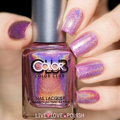 Color Club Miss Bliss Nail Polish (Halo Hues Collection)   Live Love Polish