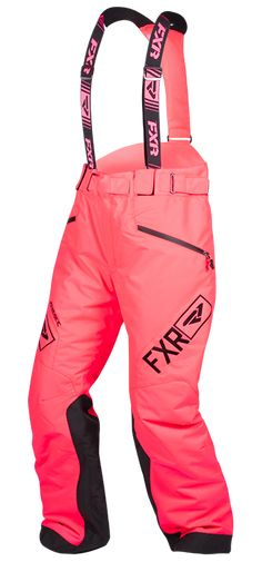 FXR Women's FRESH PANT at Up North Sports Coral Snowmobile Pants Snow Pants