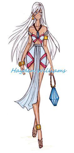 The Disney Diva's collection by Hayden Williams: Kida Disney Princess. art. creative. fashion. #ForeverEileen