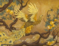The Firebird by Ashley Stewart on Curiator, the world's biggest collaborative art collection. Friedrich Nietzsche, Biblical Symbols, Phoenix, Street Graffiti, Collaborative Art, Bird Drawings, Creature Design, Beautiful Artwork, Japanese Art