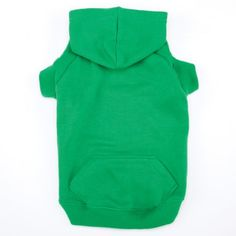 Casual Canine 12-Inch Cotton Basic Dog Hoodie, Small, Green - http://www.thepuppy.org/casual-canine-12-inch-cotton-basic-dog-hoodie-small-green/